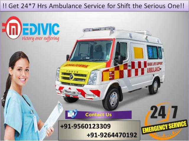 Ambulance Service in Delhi